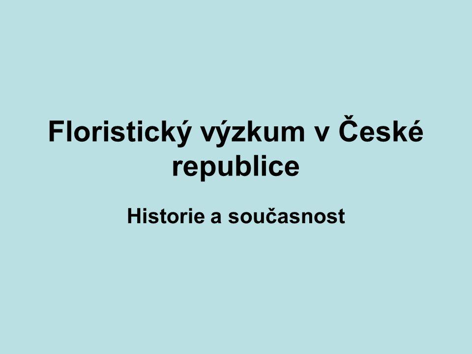 Floristický výzkum v České republice