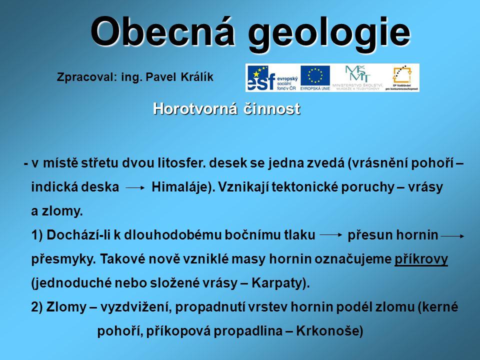 Zpracoval: ing. Pavel Králík