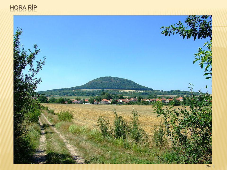 Hora říp Obr. 8