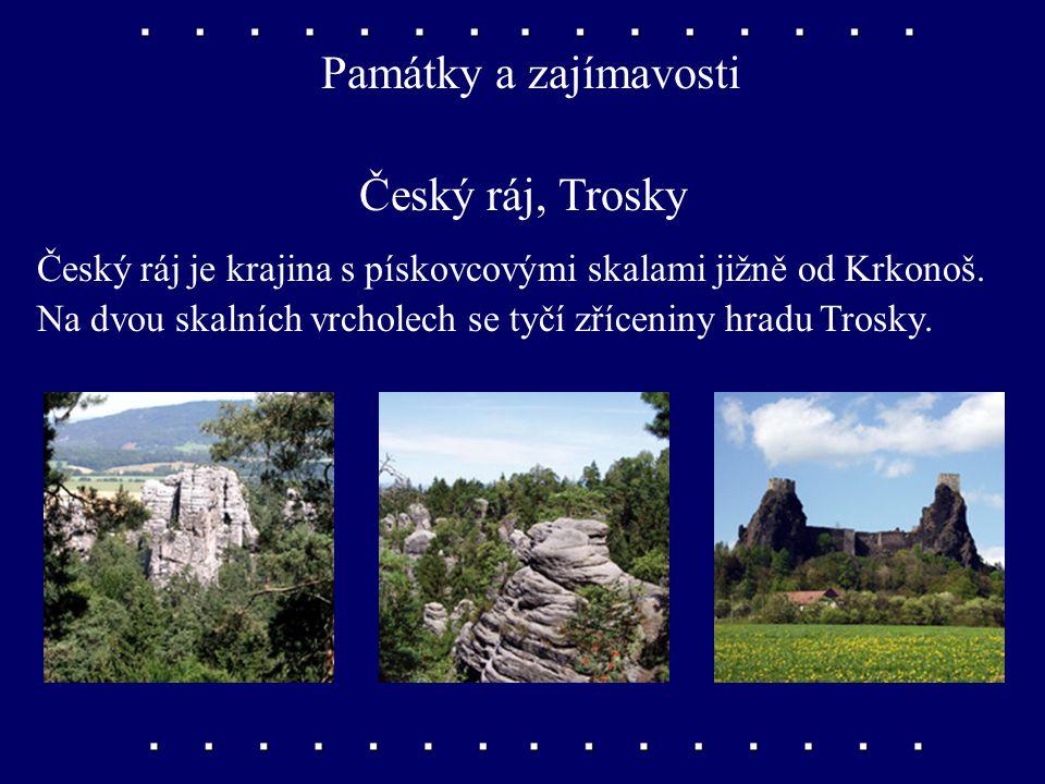 Památky a zajímavosti Český ráj, Trosky