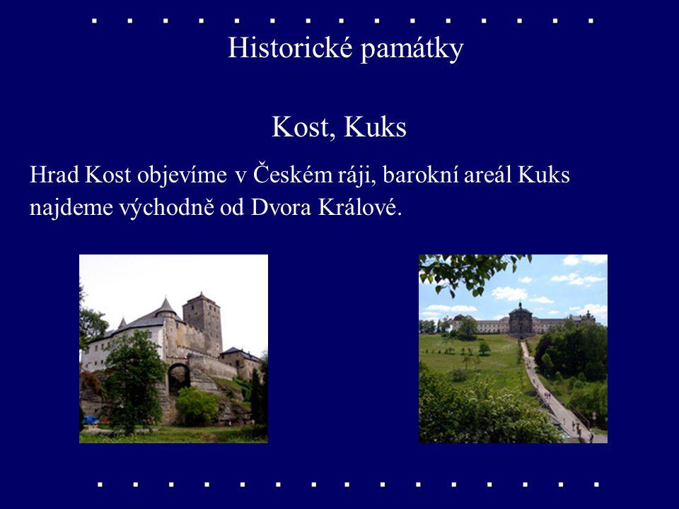 Historické památky Kost, Kuks