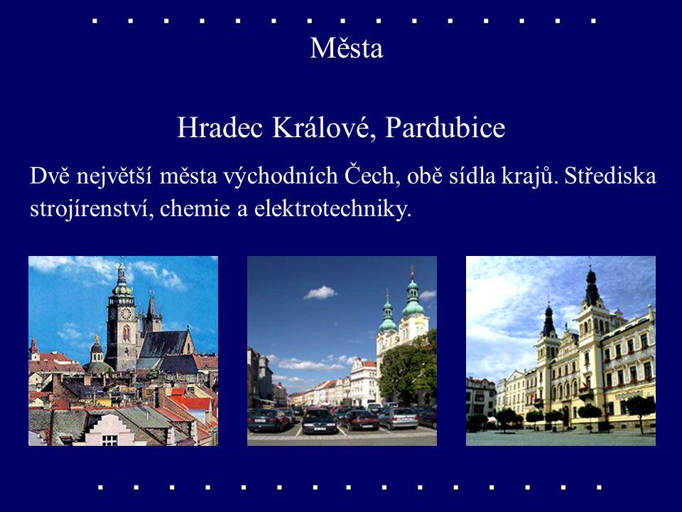 Hradec Králové, Pardubice