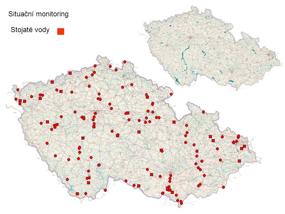 Situační monitoring Stojaté vody