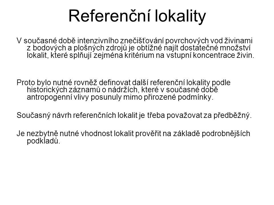 Referenční lokality