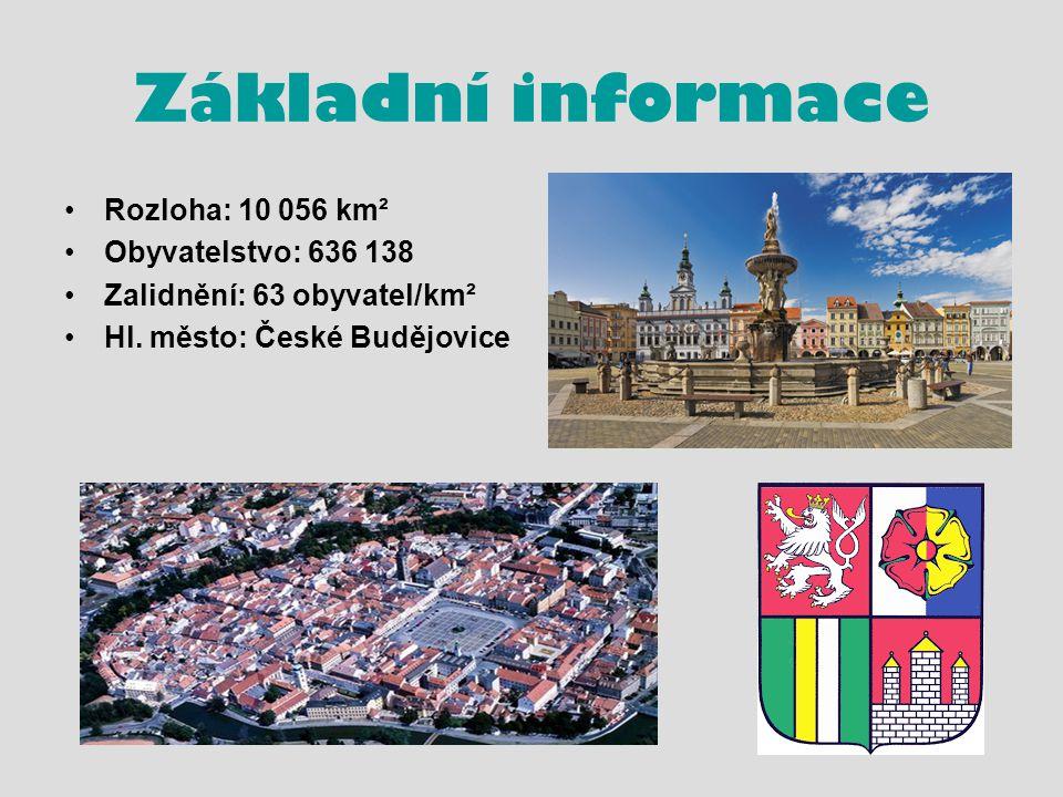 Základní informace Rozloha: 10 056 km² Obyvatelstvo: 636 138