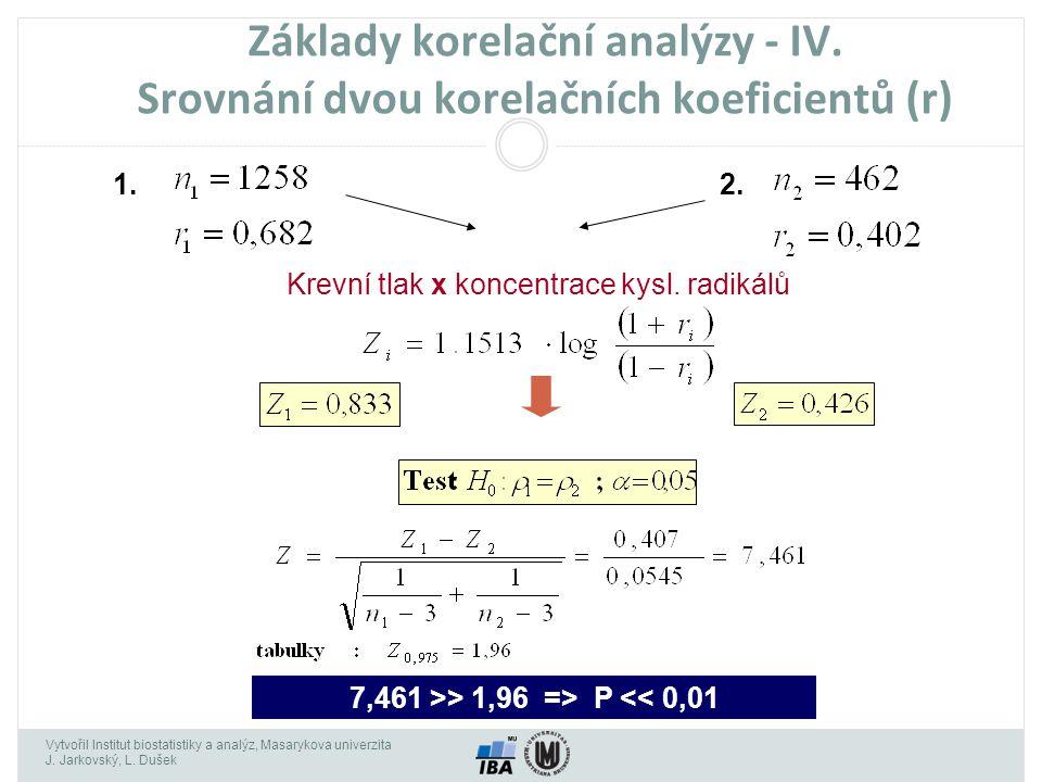 7,461 >> 1,96 => P << 0,01
