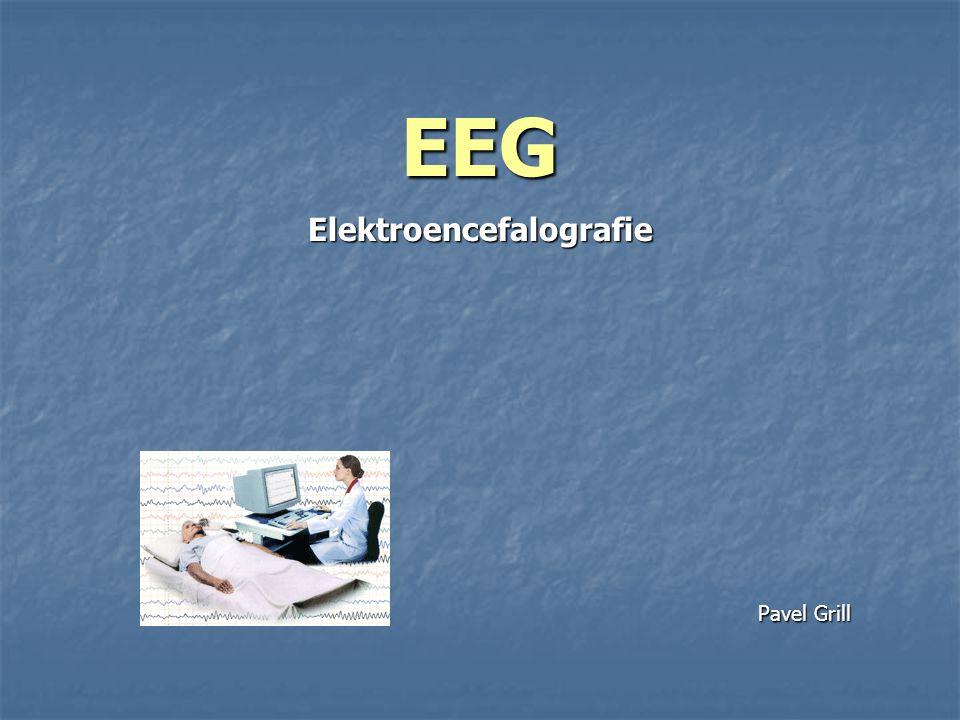 EEG Elektroencefalografie Pavel Grill