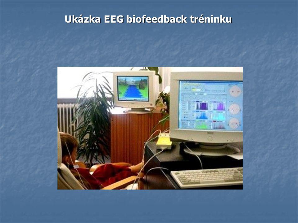 Ukázka EEG biofeedback tréninku