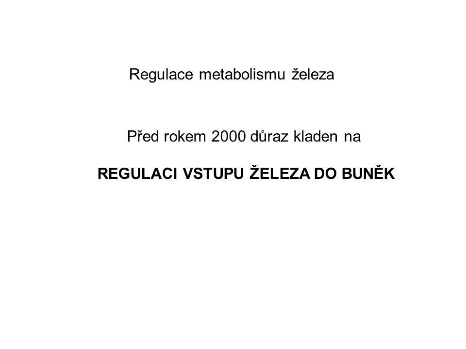 Regulace metabolismu železa