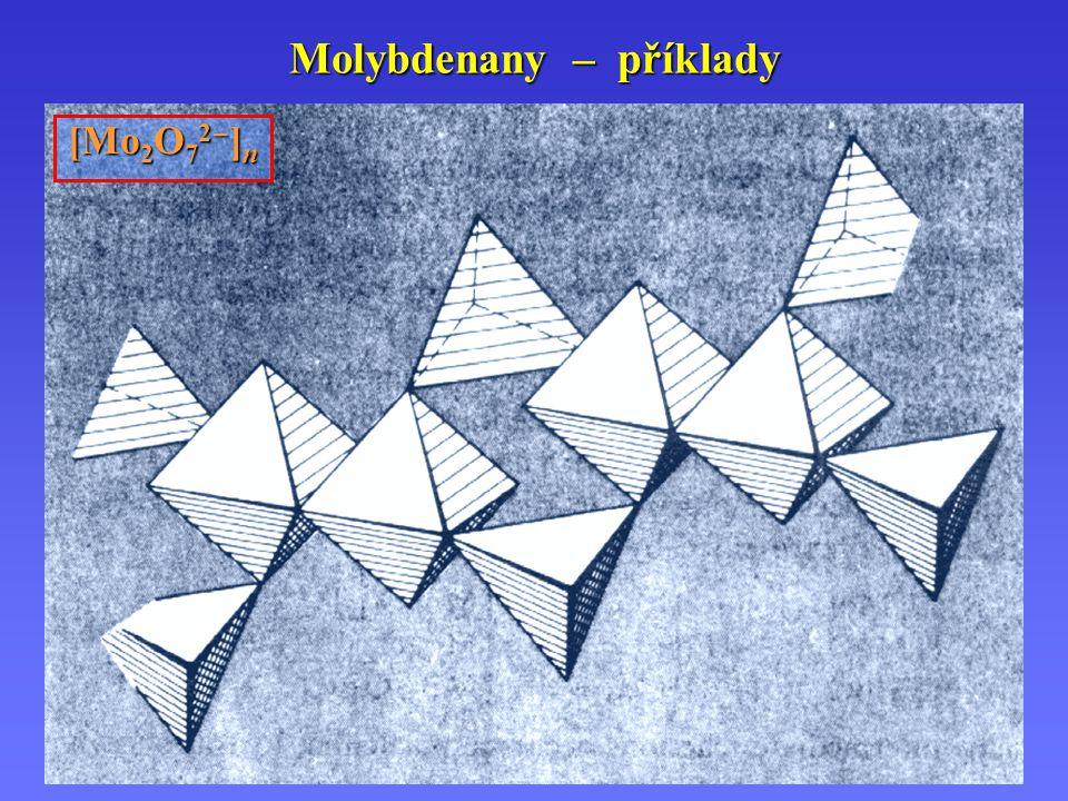 Molybdenany – příklady
