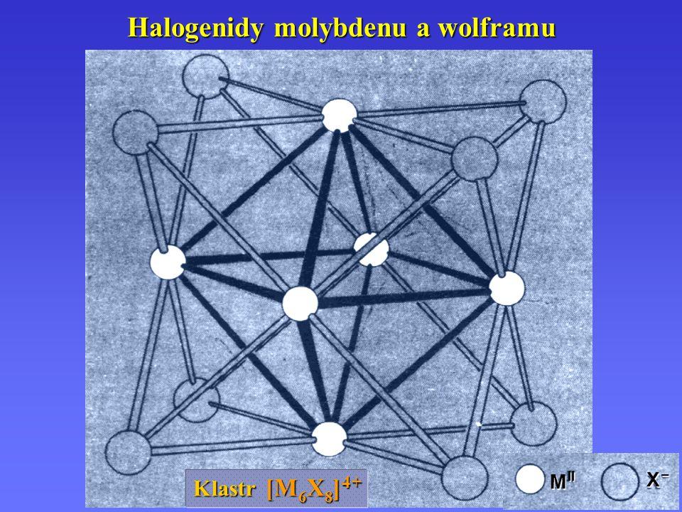 Halogenidy molybdenu a wolframu