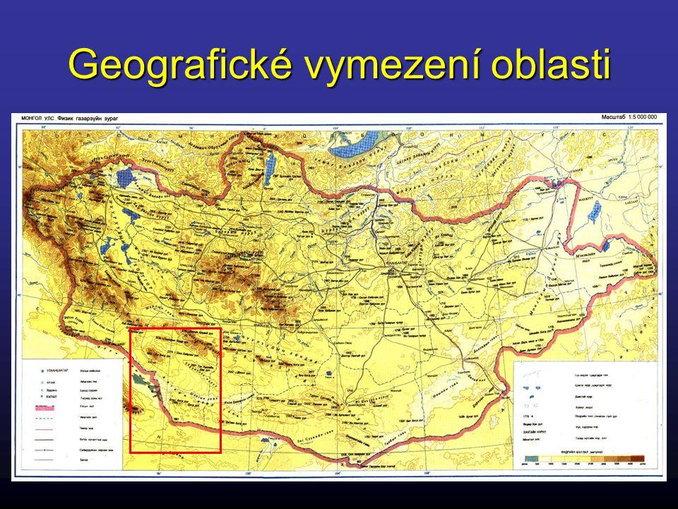 Geografické vymezení oblasti