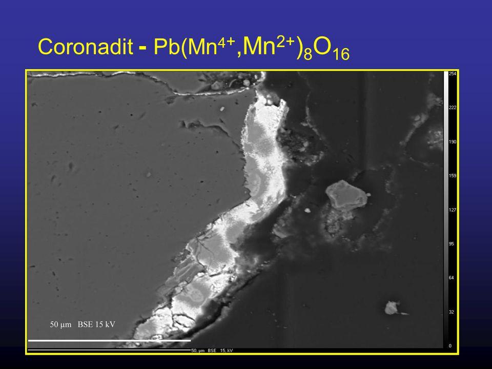 Coronadit - Pb(Mn4+,Mn2+)8O16