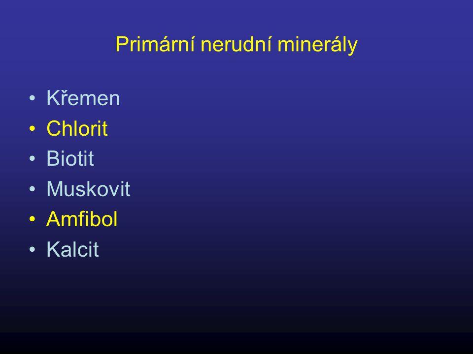 Primární nerudní minerály