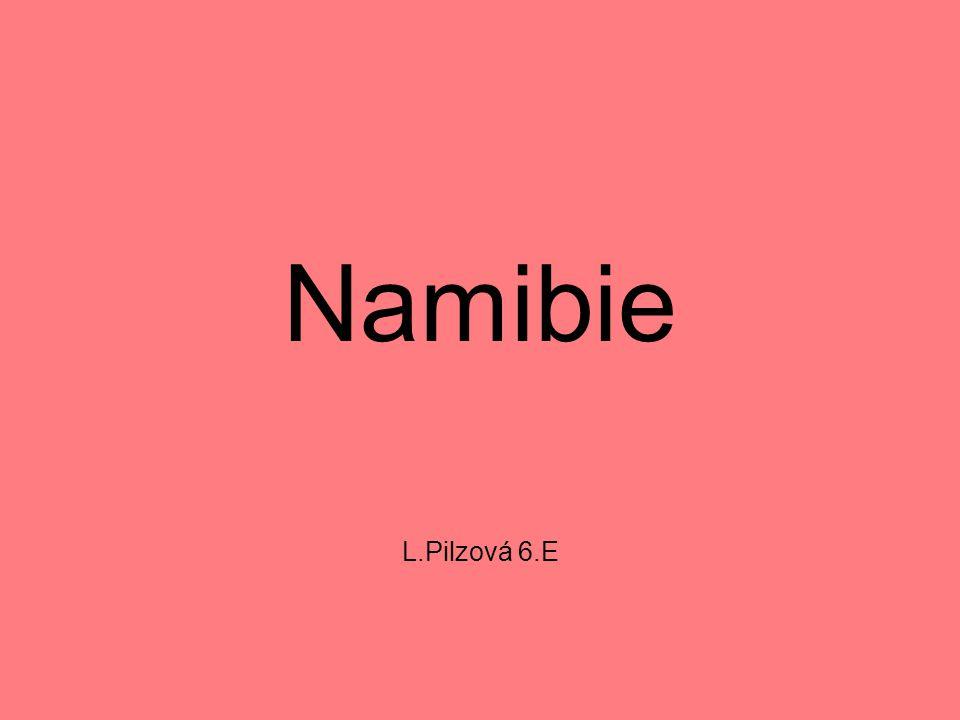 Namibie L.Pilzová 6.E