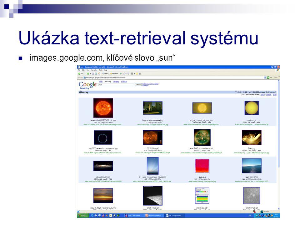 Ukázka text-retrieval systému