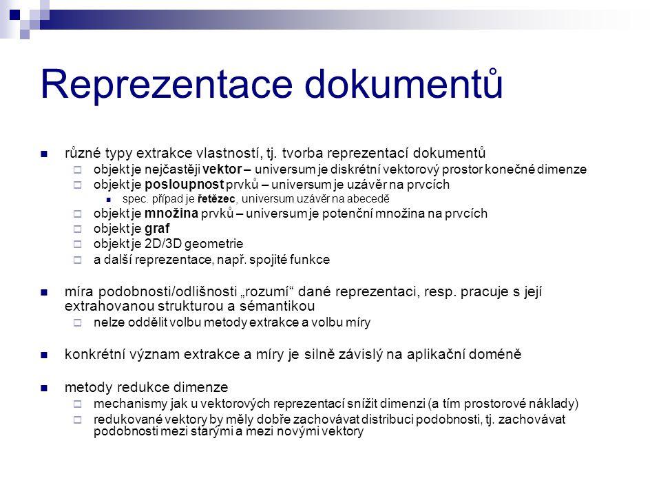 Reprezentace dokumentů