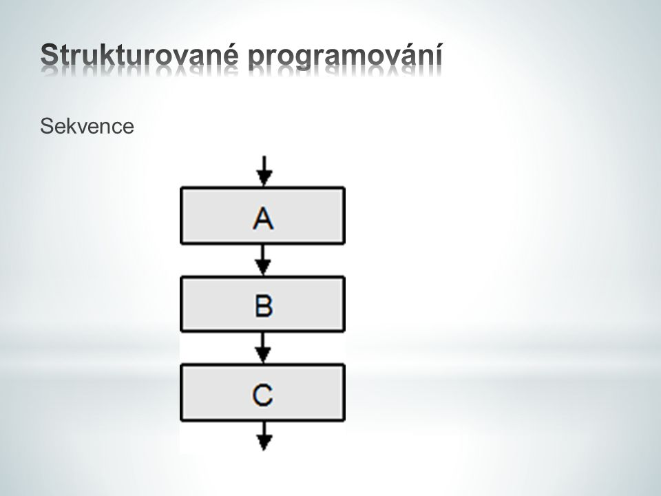 Strukturované programování