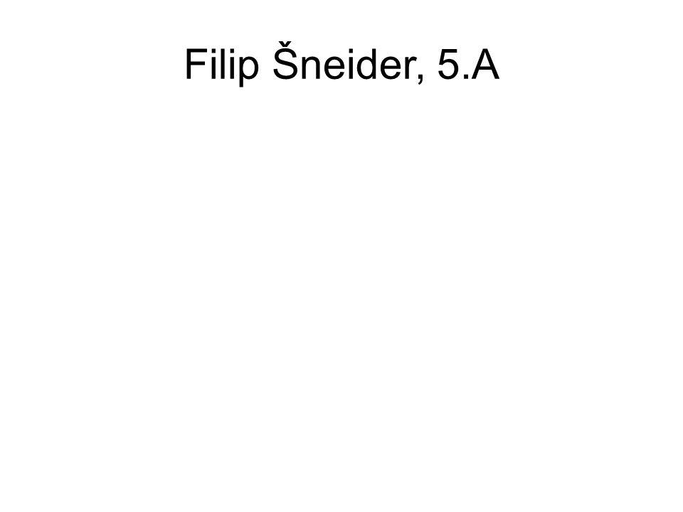 Filip Šneider, 5.A