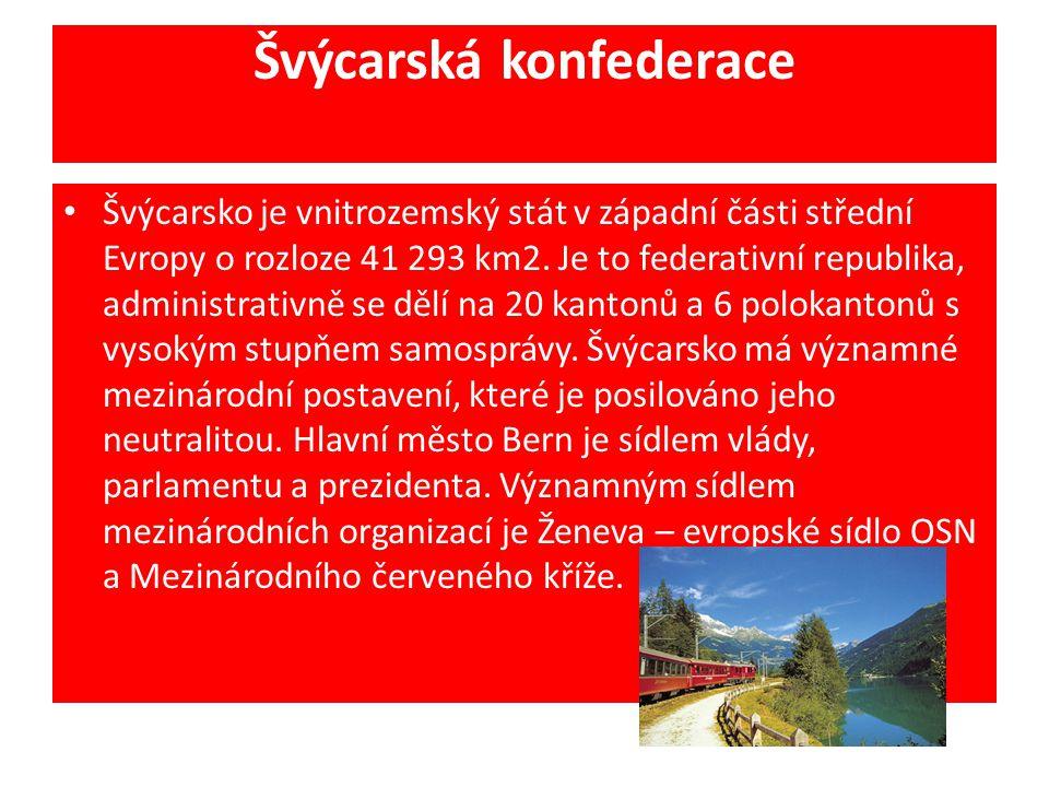 Švýcarská konfederace
