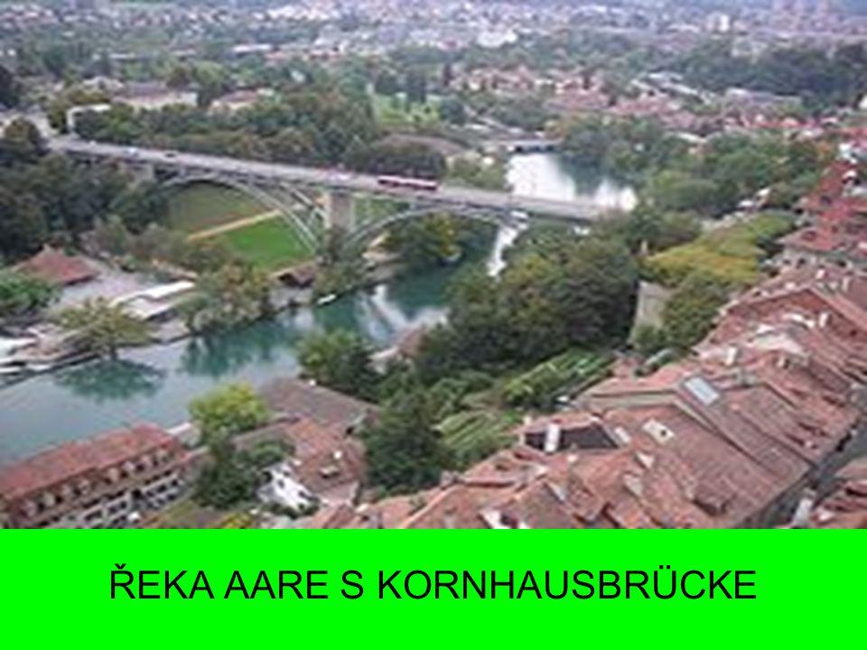 ŘEKA AARE S KORNHAUSBRÜCKE