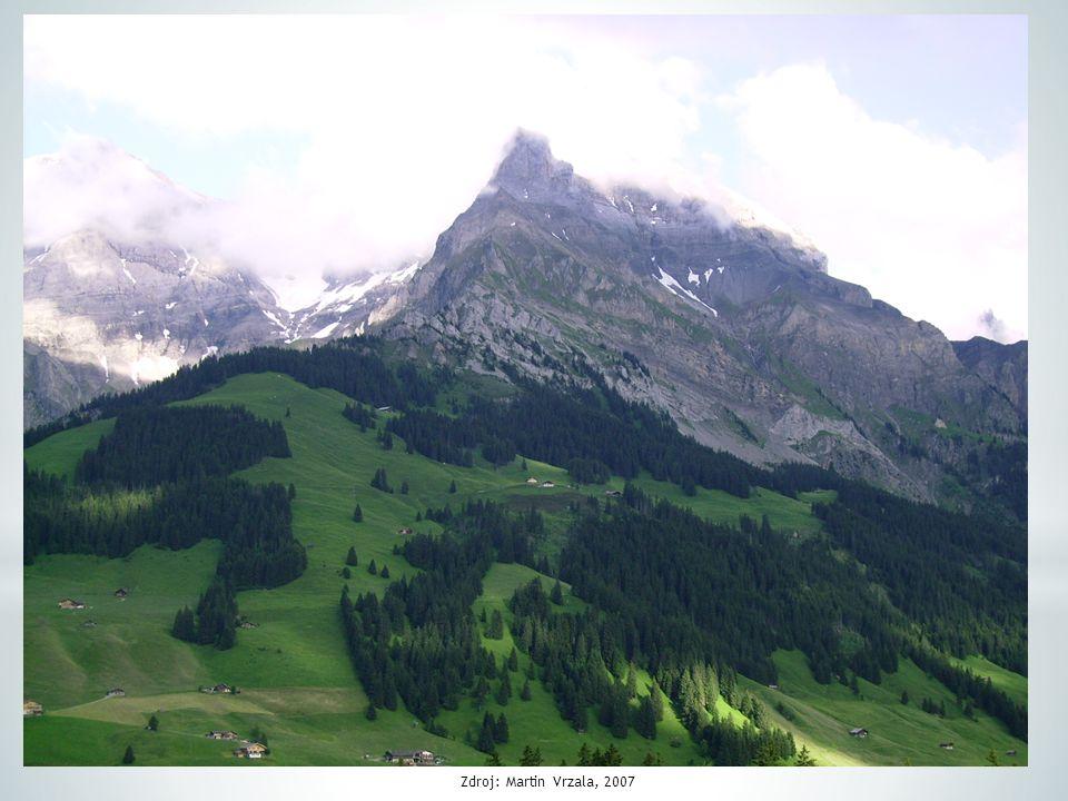1. Poloha, povrch Podle atlasu charakterizuj polohu Švýcarska.