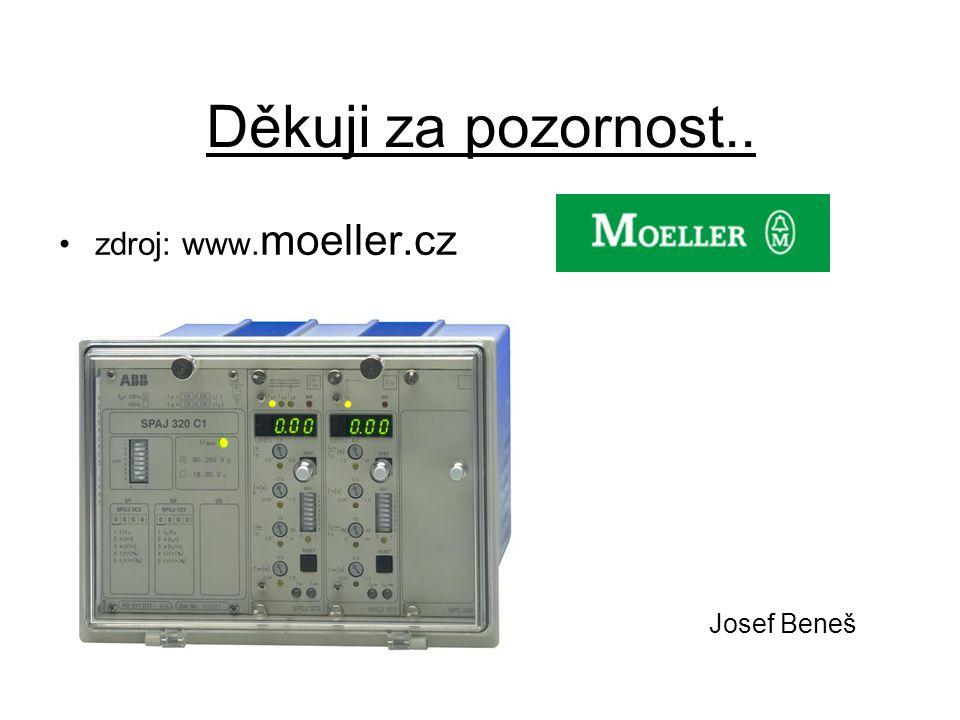 Děkuji za pozornost.. zdroj: www.moeller.cz Josef Beneš