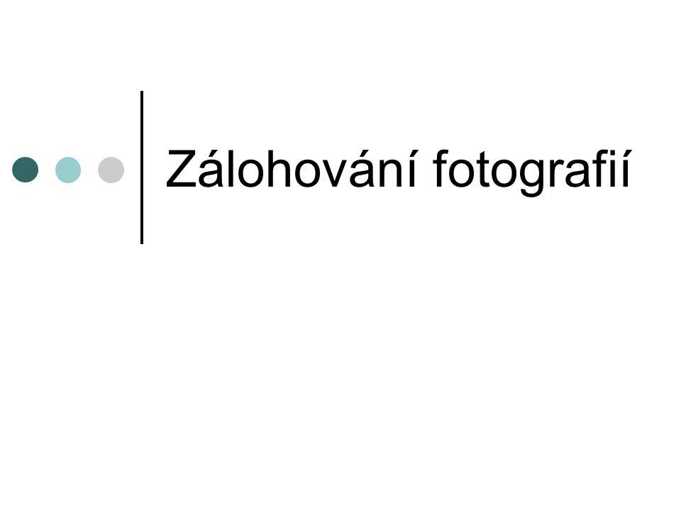 Zálohování fotografií
