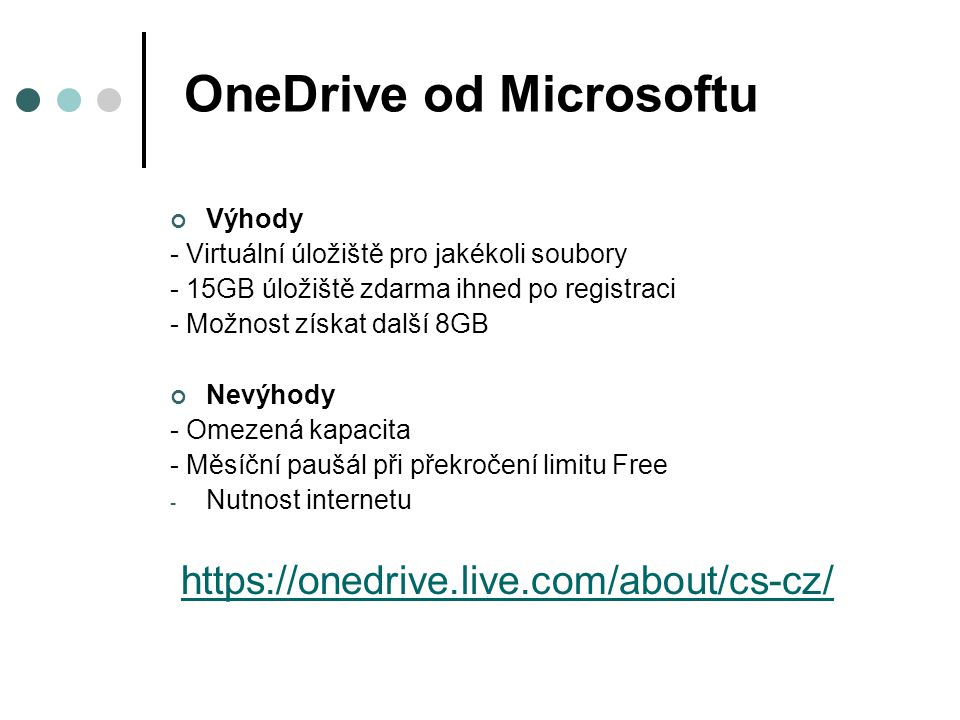 OneDrive od Microsoftu