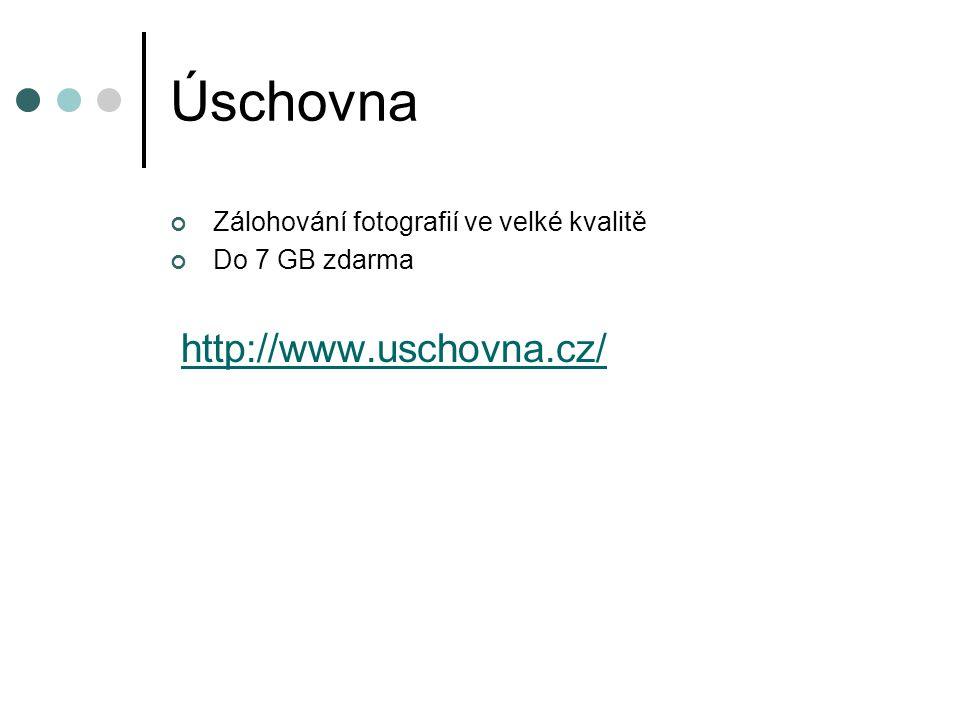 Úschovna http://www.uschovna.cz/