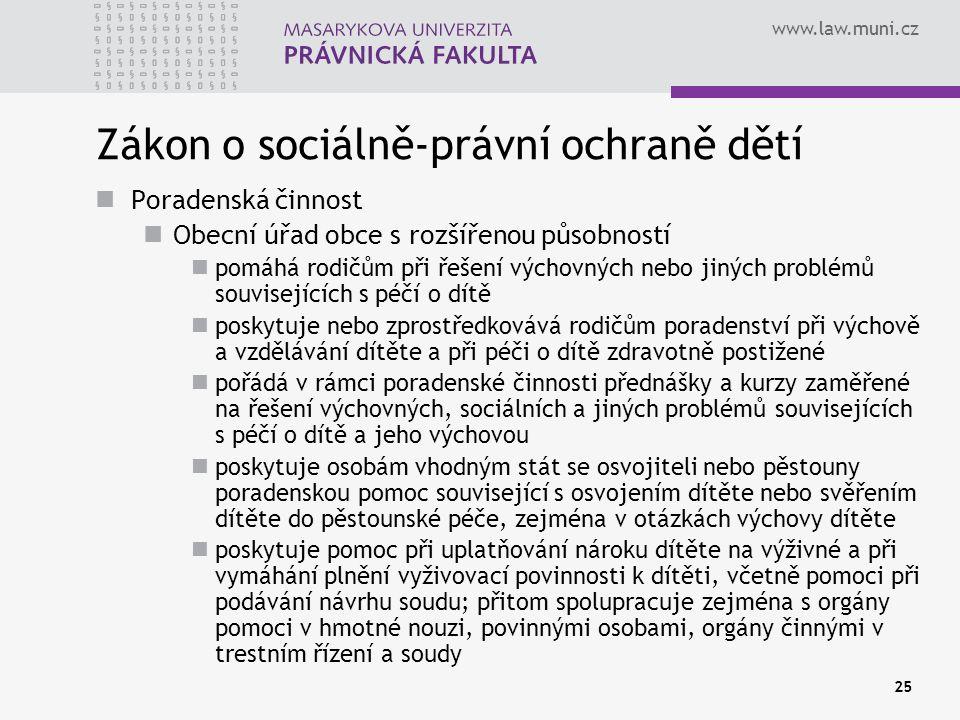 Zákon o sociálně-právní ochraně dětí