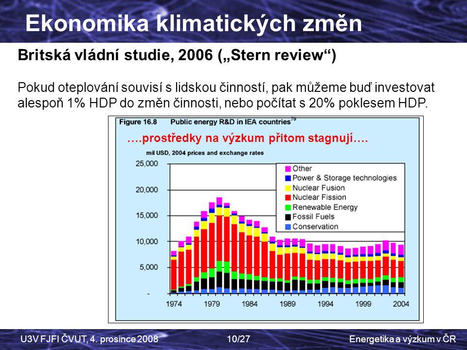 Ekonomika klimatických změn
