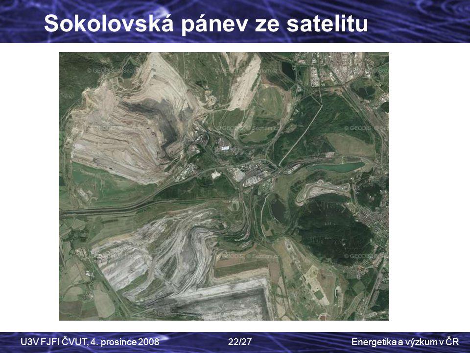 Sokolovská pánev ze satelitu
