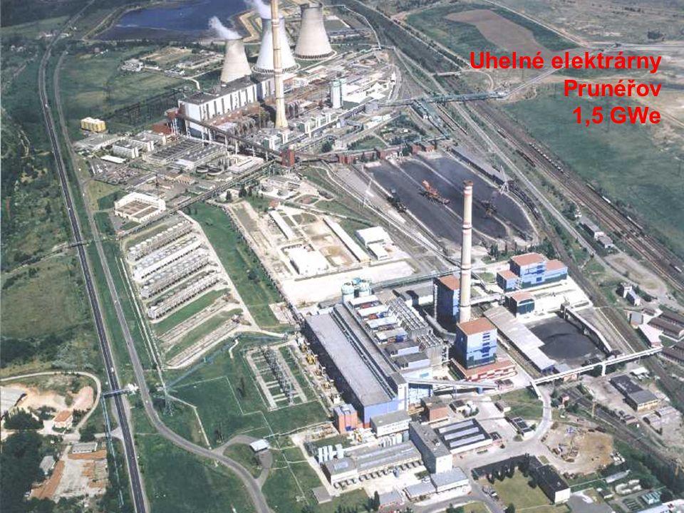 Uhelné elektrárny Prunéřov