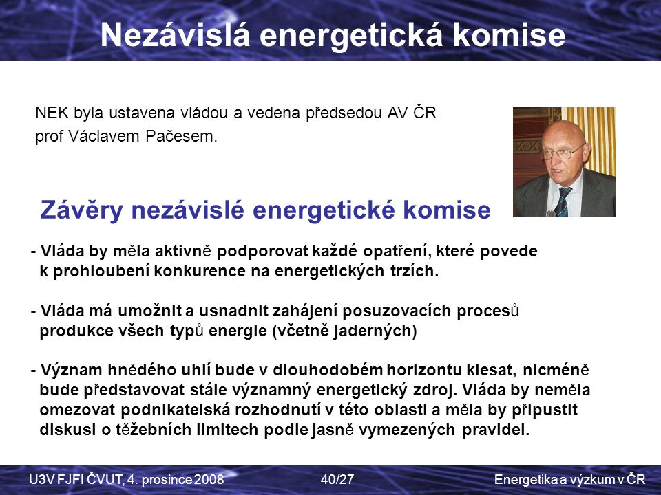 Nezávislá energetická komise