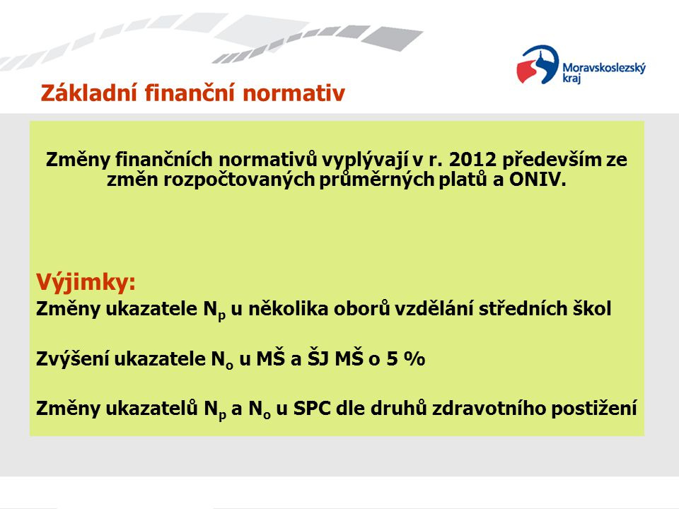 Základní finanční normativ