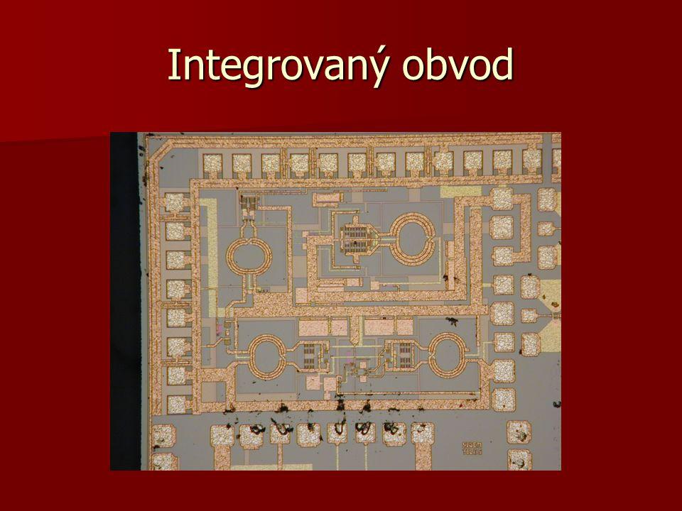 Integrovaný obvod