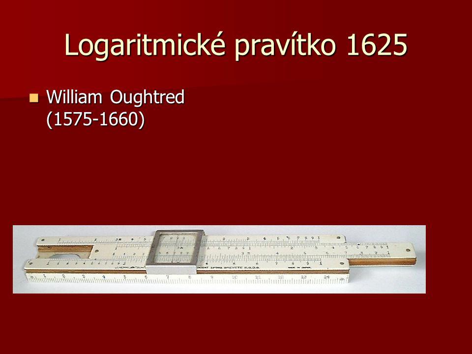 Logaritmické pravítko 1625