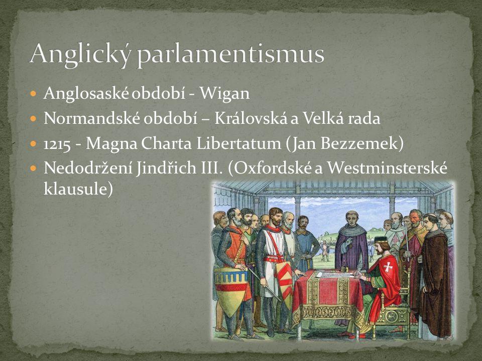 Anglický parlamentismus
