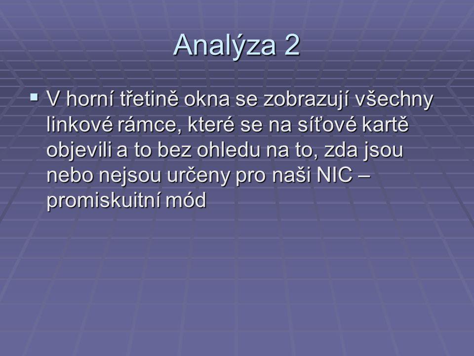 Analýza 2