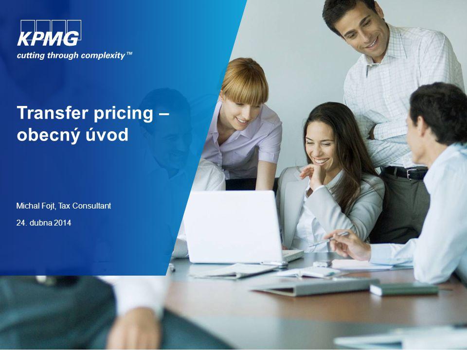 Transfer pricing – obecná definice