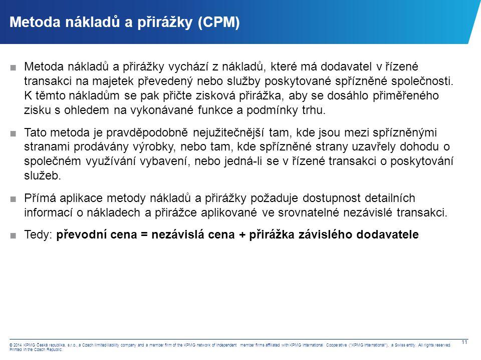Metoda rozdělení zisku (PSM)