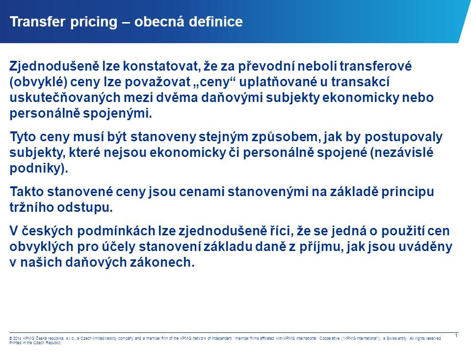 Legislativní úprava – cena obvyklá
