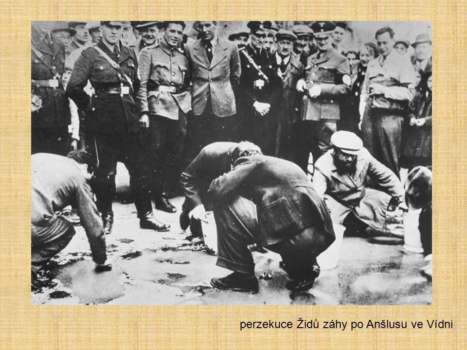 perzekuce Židů záhy po Anšlusu ve Vídni