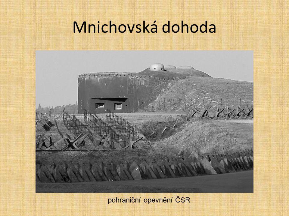 pohraniční opevnění ČSR