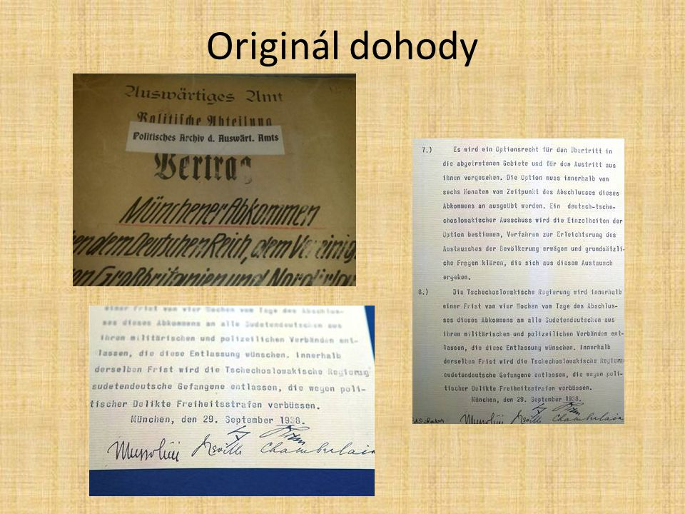 Originál dohody