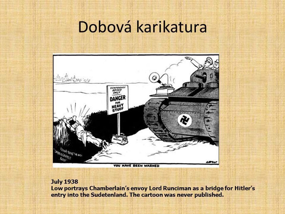 Dobová karikatura July 1938