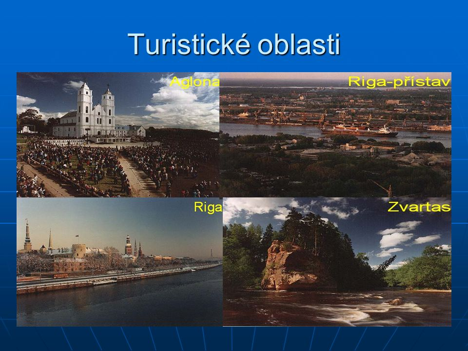 Turistické oblasti