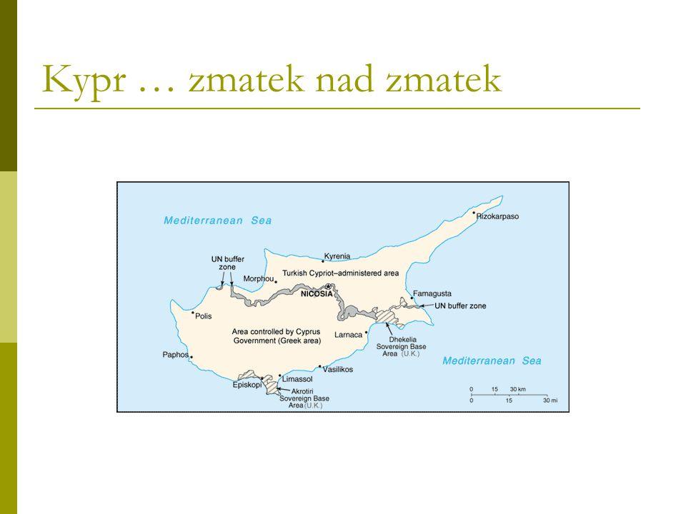 Kypr … zmatek nad zmatek