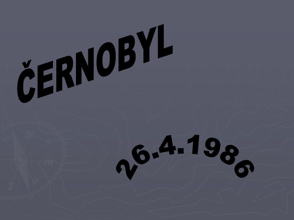 ČERNOBYL 26.4.1986